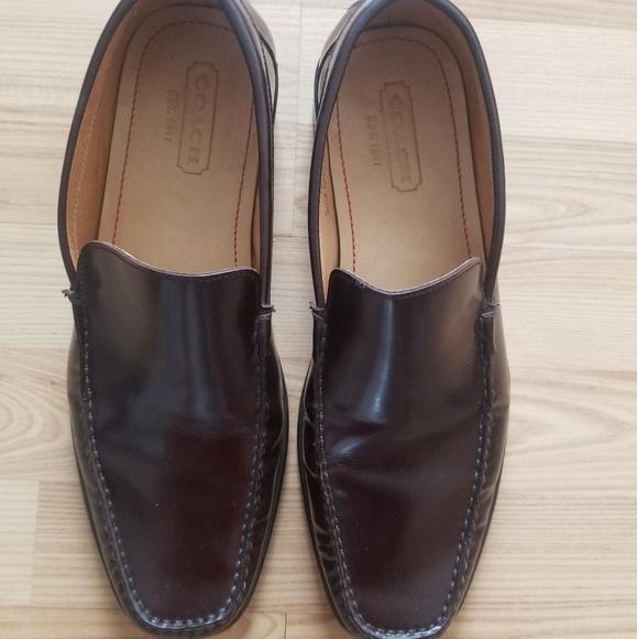 da5b55df2ff Coach Other - Coach Deep Brown Leather Loafer Shoes US 10 D Men